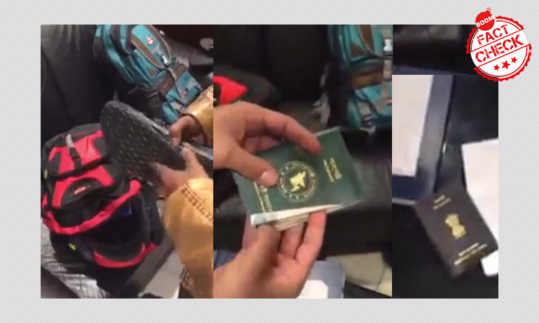 4-Year Old Video Showing Bangladeshis With Fake Indian Passports Revived