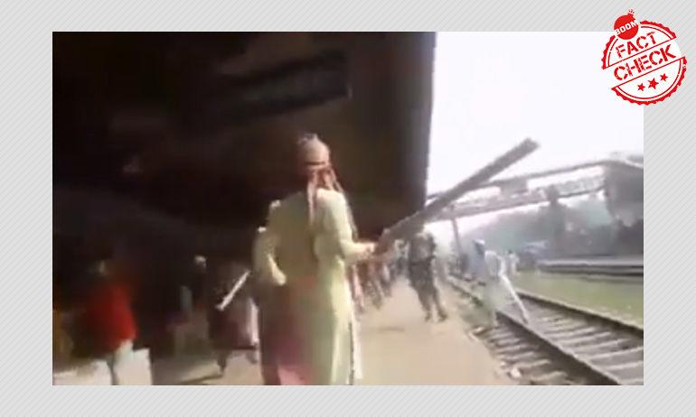 বাংলাদেশে ভাঙচুরের ভিডিও কলকাতার ঘটনা বলে চালানো হচ্ছে